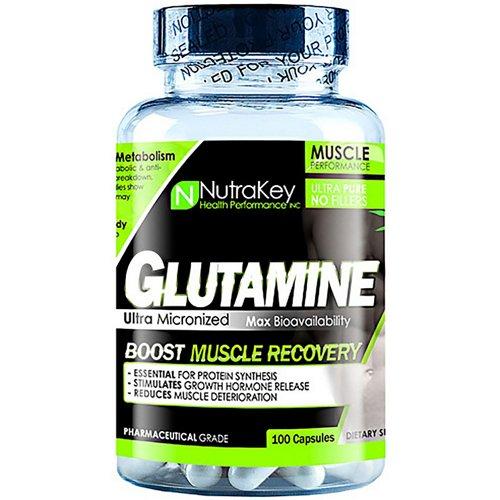 NutraKey Glutamine Capsules