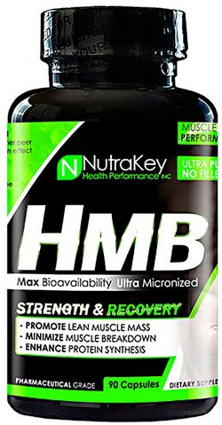 NutraKey HMB Strength and Recovery Capsules