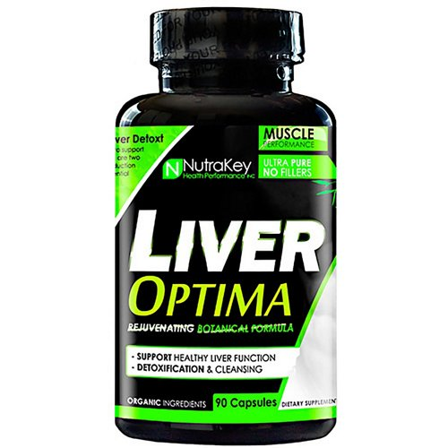 NutraKey Liver Optima Rejuvenating Botanical Formula