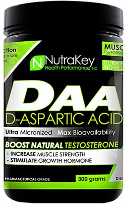 NutraKey DAA D-Asparic Acid Powder