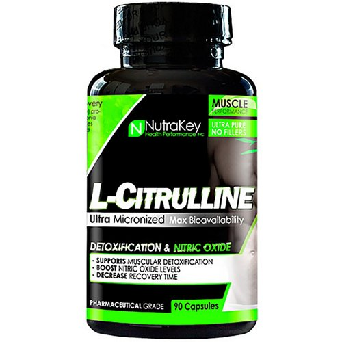 NutraKey L-Citrulline Malate Capsules