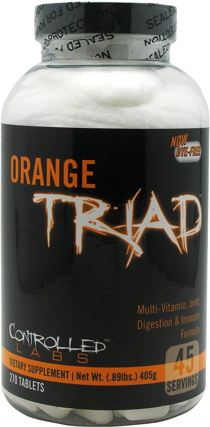 Controlled Labs Orange Triad Supplement - view number 1