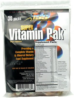 ISS Research Super Vitamin Pak