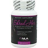 NLA for Her Shred Her Thermogenic Fat Burner Capsules