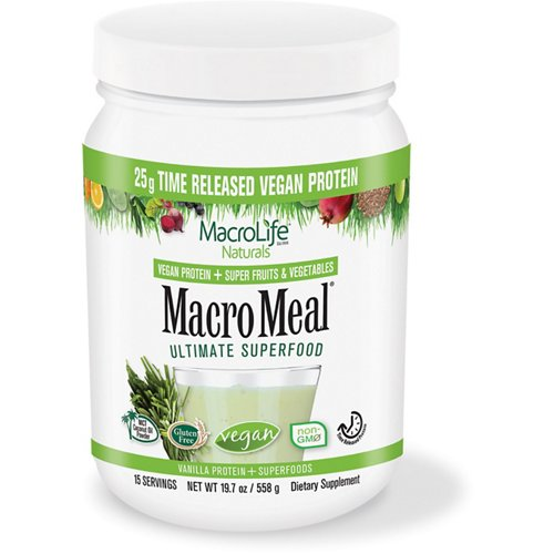 MacroLife Naturals Macro Meal Superfood Protein Supplement