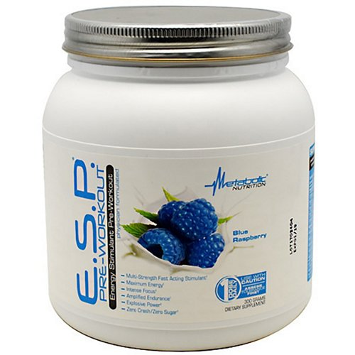Metabolic Nutrition E.S.P. Preworkout Energy Stimulant Supplement