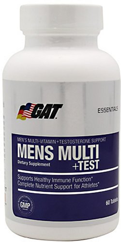 GAT Men's Multi+Test Multivitamin Tablets with Testosterone Support