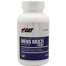 Men's Multi+Test Multivitamin Tablets with Testosterone Support