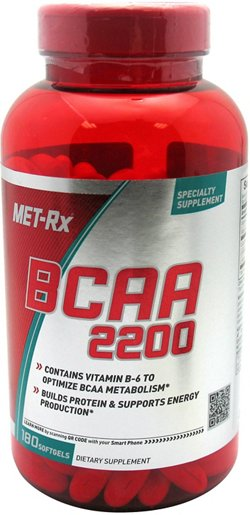 MET-Rx BCAA 2200 Soft Gels