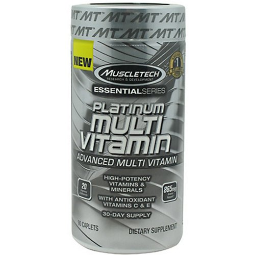 MuscleTech Essential Series Platinum Multivitamin Caplets