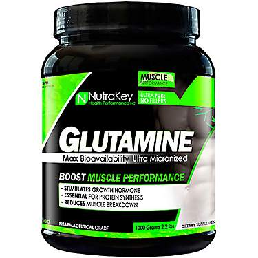 NutraKey L-Glutamine Powder