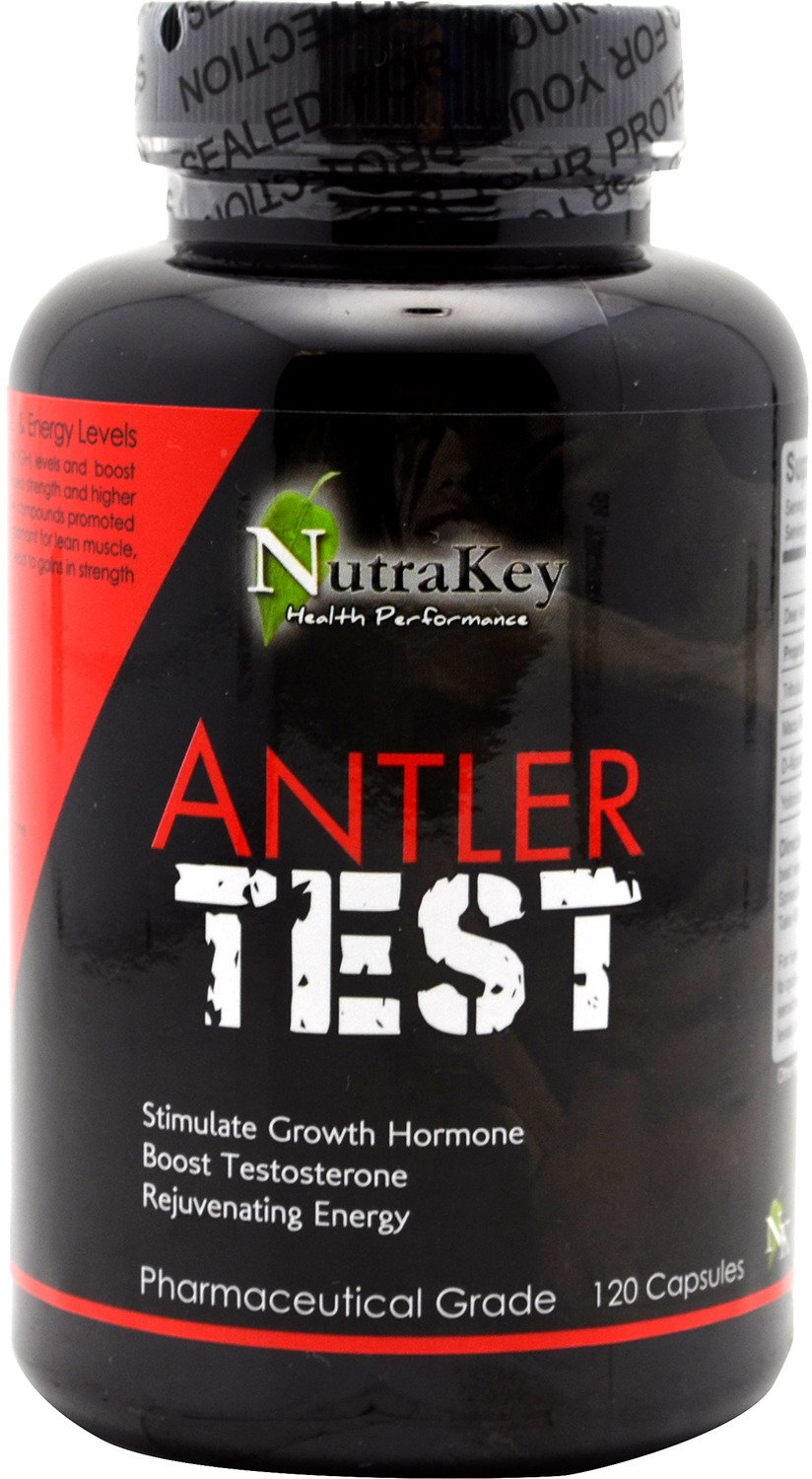 NutraKey Antler Test Complex Capsules | Tuggl