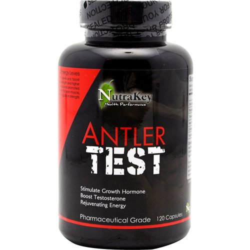 NutraKey Antler Test Complex Capsules