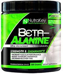 NutraKey Beta-Alanine Dietary Supplement