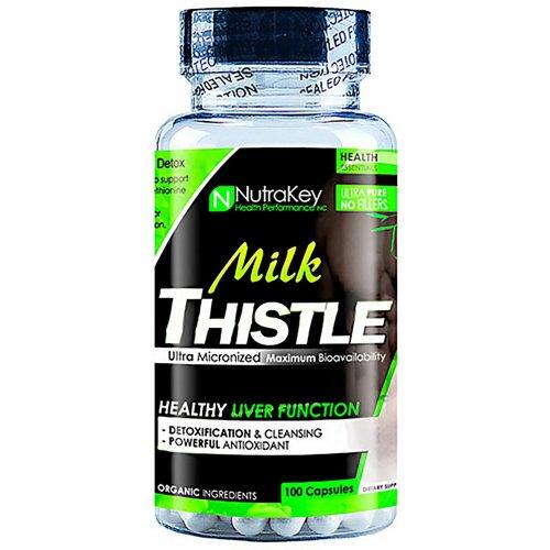 NutraKey Milk Thistle Capsules