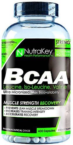 NutraKey BCAA 1500 Capsules