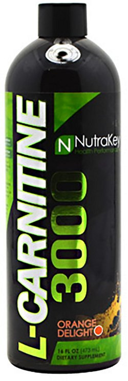 NutraKey L-Carnitine 3000 Liquid Supplement