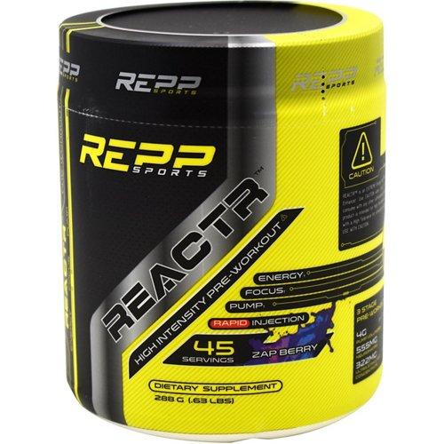 Repp Sports Reactr High-Energy Preworkout Supplement