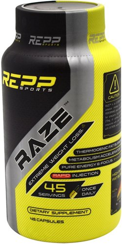 Repp Sports RAZE Extreme Weight Loss Supplement
