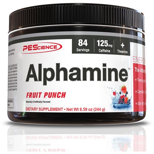 PEScience Alphamine Energy Supplement