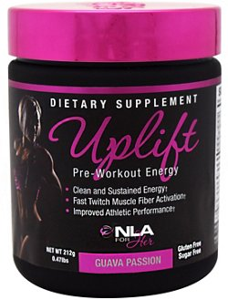NLA for Her Uplift Preworkout Energy Supplement