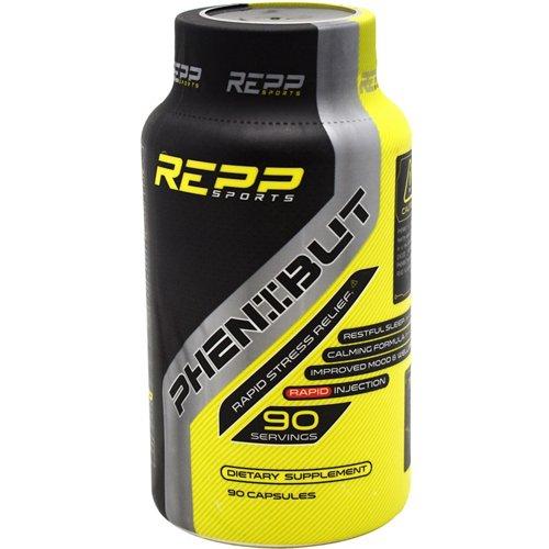 Repp Sports Phenibut Rapid Stress Relief Capsules