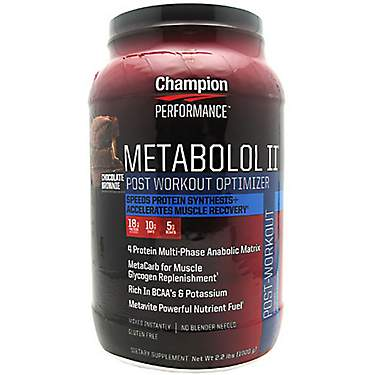 Champion Nutrition Metabolol II Post-Workout Optimizer