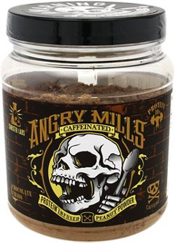 Sinister Labs Angry Mills Caffeinated Peanut Powder