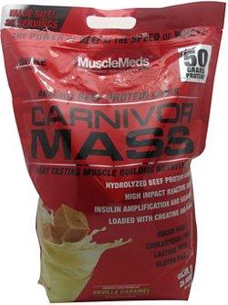 MuscleMeds Carnivor Mass Beef Protein Powder