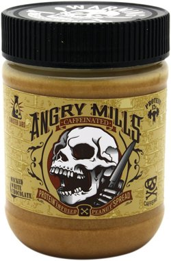Sinister Labs Angry Mills Caffeinated Peanut Butter Spread