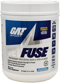 GAT JetFuse Preworkout Powder
