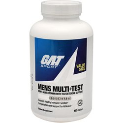 Men's Multi+Test Multivitamin with Testosterone Support