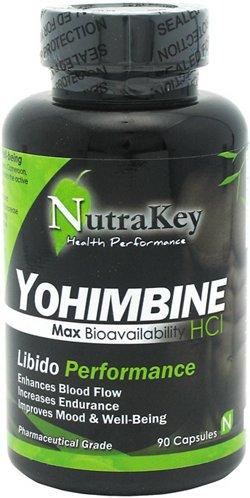 NutraKey Yohimbine Libido Performance Capsules