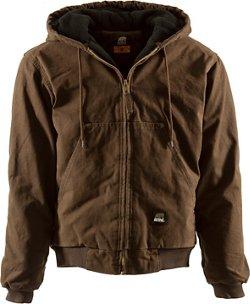 Berne Men's Original Washed Hooded Jacket