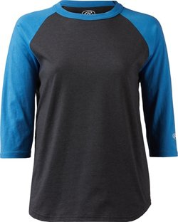 Boys' Heathered 3/4-Sleeve Baseball Shirt