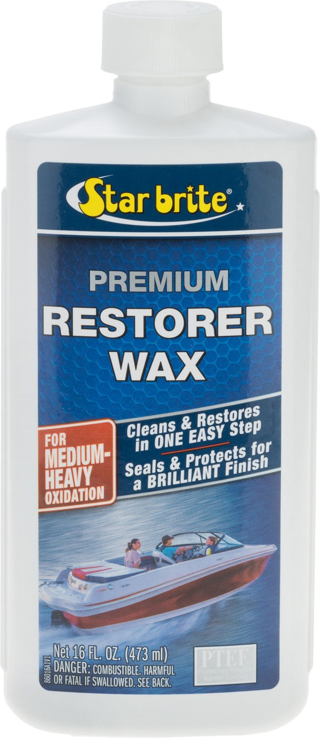 Star brite Premium 16 oz Restorer Wax - view number 1