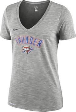 Nike Women's Oklahoma City Thunder Dry ES Wordmark T-shirt