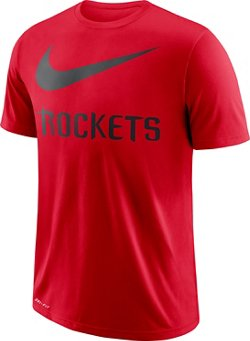 Nike Men's Houston Rockets Dry ES Swoosh T-shirt