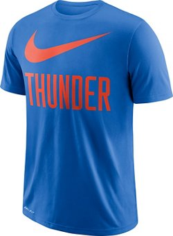 Nike Men's Oklahoma City Thunder Dry ES Swoosh T-shirt