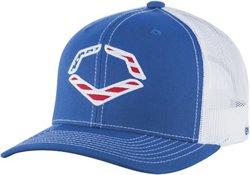 Wilson Adults' EvoShield USA Snapback Trucker Hat