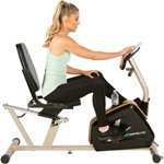Exerpeutic 975XBT Bluetooth Smart Technology Recumbent Exercise Bike - view number 5