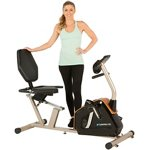 Exerpeutic 975XBT Bluetooth Smart Technology Recumbent Exercise Bike - view number 1
