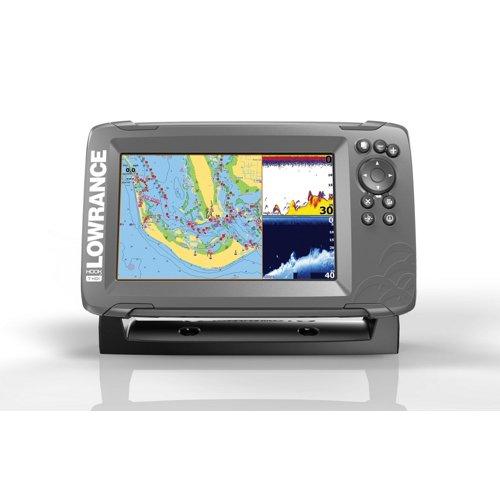 Lowrance HOOK2-7 SplitShot Fishfinder/GPS Combo
