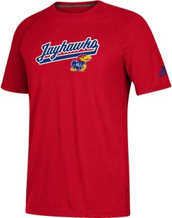 adidas Men's University of Kansas Ultimate Trustitch T-shirt