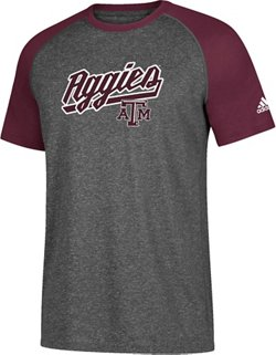 adidas Men's Texas A&M University Ultimate Trustitch Contrast T-shirt