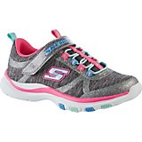 SKECHERS Girls' Trainer Lite Running Shoes