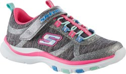 SKECHERS Girls' Trainer Lite Running Shoes