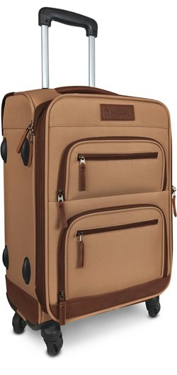 Magellan Outdoors Hewitt 21 in Rolling Spinner Suitcase
