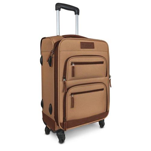 Magellan Outdoors Hewitt 21 in Rolling Spinner Suitcase