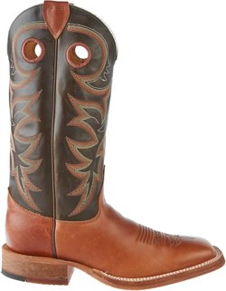 Justin Men's Kerrville Copper Bent Rail Cowboy Boots